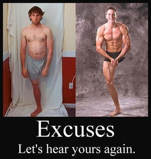 Stupid Excuses Not to Workout