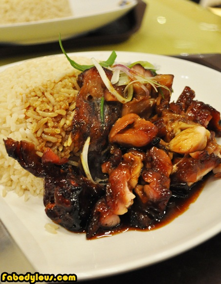 Food Republic BBQ Chicken Rice