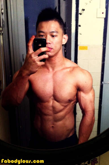 Bodybuilder in KL