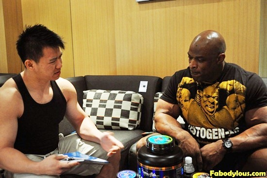 Interview With Ronnie Coleman 2012