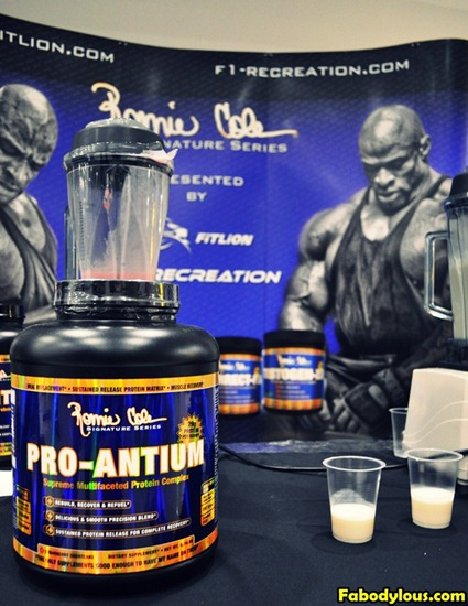 Ronnie Coleman Signature Series Pro Antium