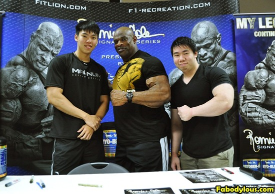 Ronnie Coleman Team Fabodylous