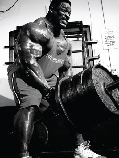 Ronnie Coleman Deadlift