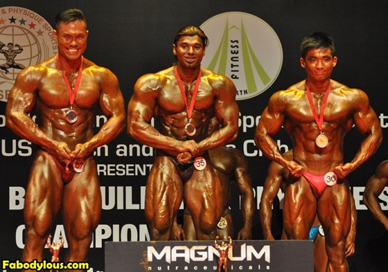 Mr Singapore 2013 Winners