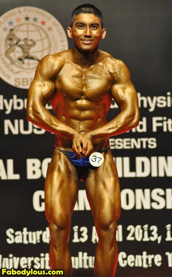 Vagisa Singapore Bodybuilder