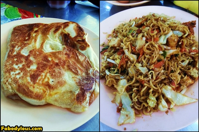 Roti bom and maggi goreng, the two best things that has been blessed unto Malaysians.