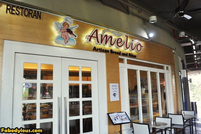 Our day started with breakfast at Amelio Artisan Bread & Bites @ Desa Park City.