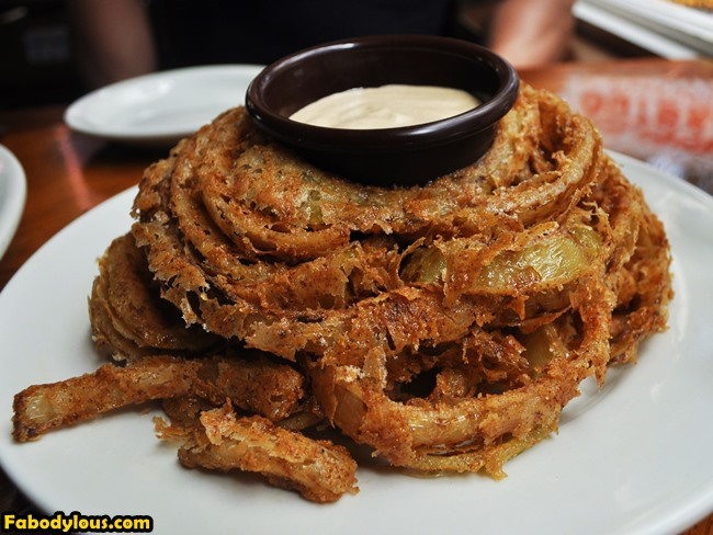 Onion rings! Pretty damn awesome too!