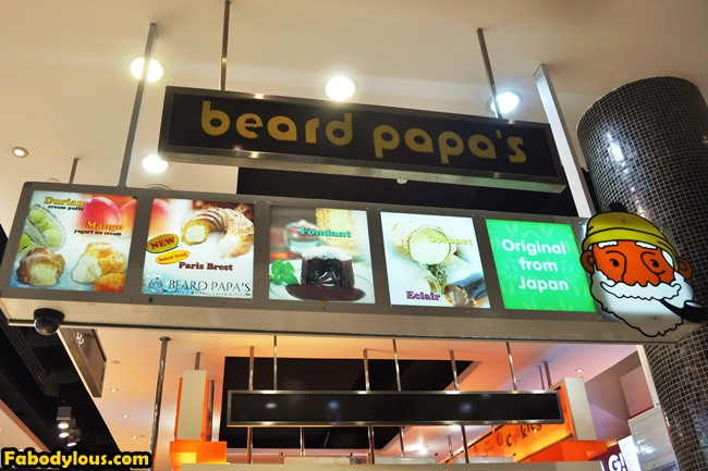 Just a quick bite from Beard Papa.