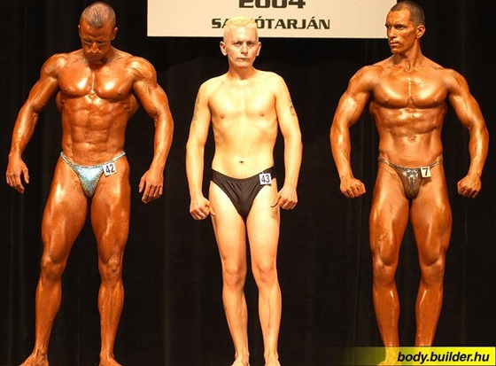 Bodybuilder Fail