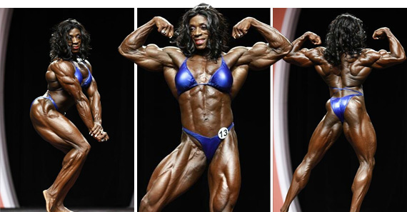 Iris Kyle Female Bodybuilder